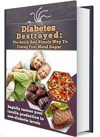 Diabetes Destroyed Book