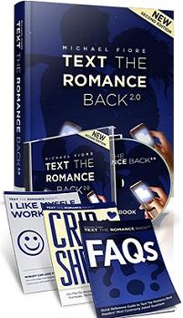 Michael Fiore Text The Romance Back 2.0