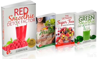 Liz Swann Miller Red Smoothie Detox Factor